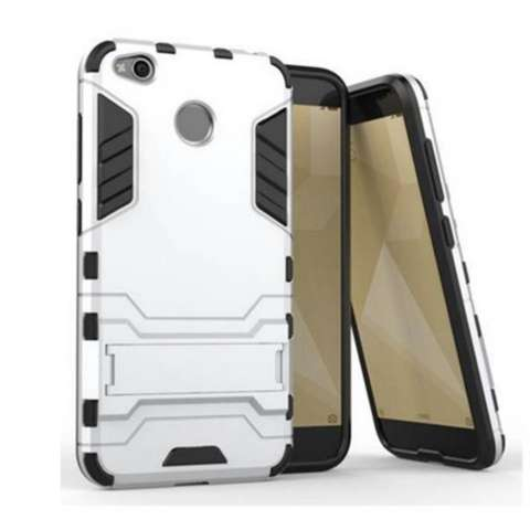 CASE EXECUTIVE IRON MAN 2 IN 1  ROBOT  WITH STAND FOR XIAOMI REDMI 4X  - RANDOM COLOR 3