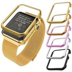 Kasus To Apple Watch Seri 3 Seri 2 And 1 38mm Aluminium Case Campuran (tanpa