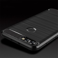 Case For Huawei P Smart Luxury Carbon Fiber Soft TPU Full Protective Cover For Huawei P9 Lite Smart 7 Plus Shell 50pcs (OE0105)