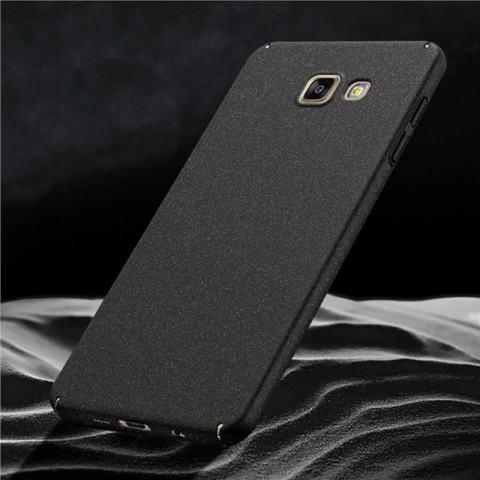 Case untuk Samsung Galaxy A7 (2016) A710 Ultra Tipis Hard PC Full Body Halus