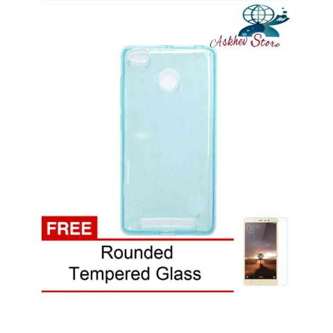 Home; Case For Xiaomi Redmi 3S / Redmi 3 Pro Ultrahin Air Case Series - Biru + Free Rounded Tempered Glass