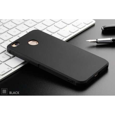 Home; Case For Xiaomi Redmi 4x Slim Shockproof Hybrid Case Series - Hitam