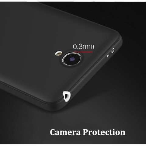 Case For Xiaomi Redmi Note 2 UltraSlim Premium Shockproof Hybrid Full Cover Series- Hitam