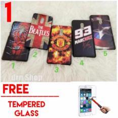 Case Hardcase Xiaomi Redmi Note 4X Karakter Free Tempered Glass