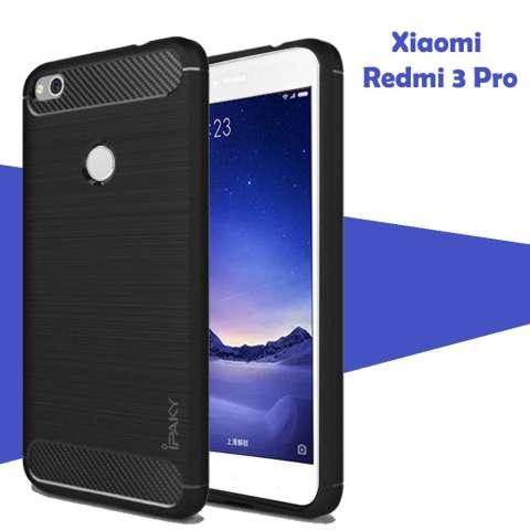 Jual Case Ipaky Carbon Fiber For Xiaomi Redmi 3 Pro Softcase Premium Shockproof Tpu Hitam Harga