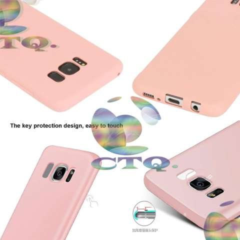Case Lize Softcase For Samsung Galaxy S8 TPU Rubber Skin Soft Back Case / Softshell /