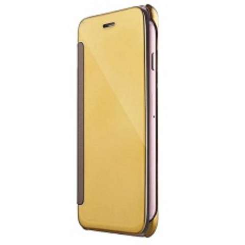 Case Plating Mirror Premium Clear View Case Cover Dormance for iPhone 7 4.7