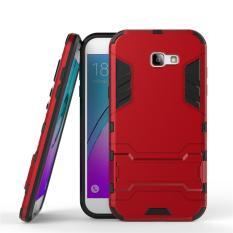Case Samsung Galaxy A3 2017 SM-A320 Transformer Robot Casing Iron Man - Merah