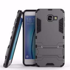 Case Samsung Galaxy A510 A5 2016 Transformer Robot Casing Iron Man - Black
