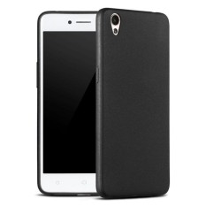 Case Slim Black Matte Oppo A37 / Neo 9 Baby Skin Softcase Ultra Thin Jelly Silikon Babyskin  - Black