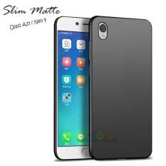 Case Slim Black Matte Oppo Neo 9 / A37 Baby Skin Softcase Ultra Thin Jelly Silikon Babyskin