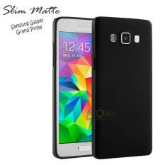 Case Slim Black Matte Samsung Galaxy Grand Prime G530 Baby Skin Softcase Ultra Thin Jelly Silikon Babyskin