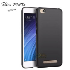 Case Slim Black Matte Xiaomi Redmi 4A Baby Skin Softcase Ultra Thin Jelly Silikon Babyskin