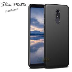 Case Slim Black Matte Xiaomi Redmi 5 Baby Skin Softcase Ultra Thin Jelly Silikon Babyskin