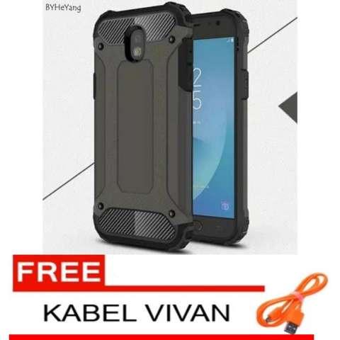 Case Tough Armor Carbon For Samsung Galaxy J5 Pro – Abu FREE Kabel Data
