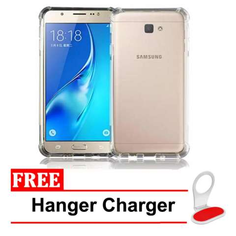 Case Anti Crack Elegant Softcase for Samsung Galaxy J5 2017 - Clear Free Kabel Charger.