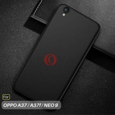 Caselova UltraSlim Black Matte Hybrid Case for OPPO A37 / A37f / Neo 9 - Black