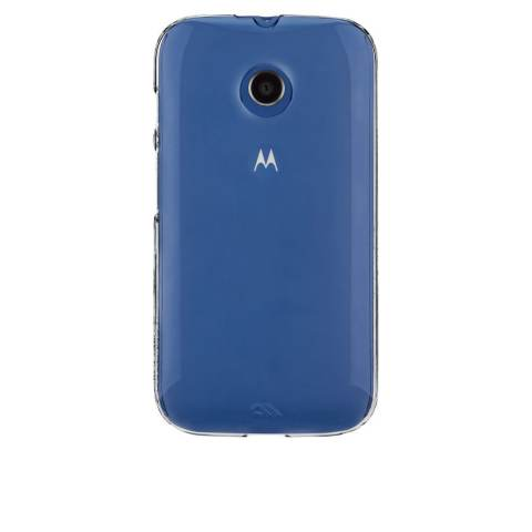 Casemate Barely There Hard Case Motorola Moto E Casing Cover - Transparan