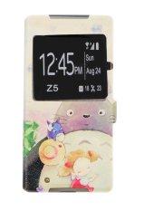 Casing Handphone Flip Cover Sony Z5 - Boneka Vektor
