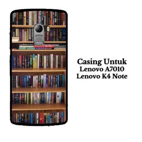 Casing LENOVO K4 Note book library Hardcase Custom Case Cover