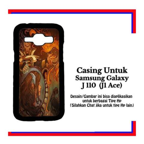 Casing Samsung J1 Ace dota 2 new bloom 2 Custom Hardcase Cover