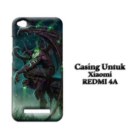 Casing XIAOMI REDMI 4A Plus Wallpaper Custom Hard Case Cover