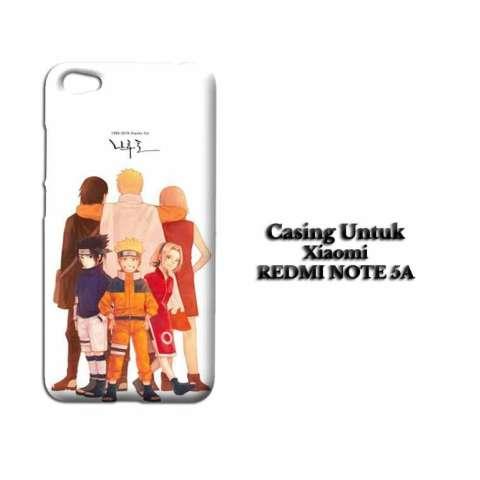 Casing XIAOMI REDMI NOTE 5A naruto 1m2 Custom Hard Case Cover
