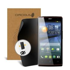 Celicious Privacy Acer Liquid E3 Duo Plus 2-Way Visual Black Out Screen Protector