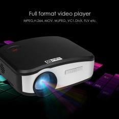 Cheerlux C6 DIGITAL Mini LED Projector Digital TV - TERBARU - Hitam