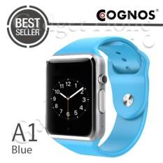 Cognos Smartwatch A1 - GSM TERMASUK BOX - Biru