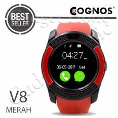 Cognos Smartwatch - GSM V8 - Red