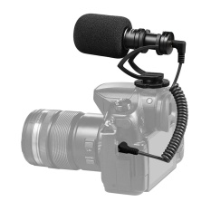 COMICA CVM-VM10II Full Metal MINI Compact On-Camera Cardioid Directional Video Microphone with Shock-Mount for iPhone Samsung Huawei Smartphones for DJI OSMO for GoPro 3,3+,4,5 for Sony A7RII A7 for Panasonic GH4 GH5 ILDC Cameras - intl