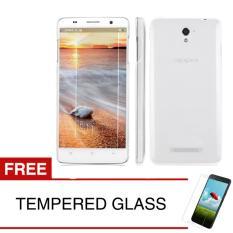 Crystal Case for OPPO Joy / R1001 - Clear Hardcase +  Gratis Tempered Glass