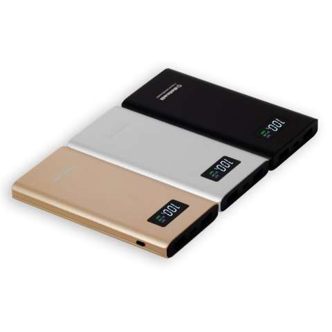 Delcell 10000mAh Powerbank TORNADO Support Quick Charge 3.0A Real Capacity Polymer Battery Slim Powerbank Garansi Resmi 1 Tahun Dual Output Power Bank ...