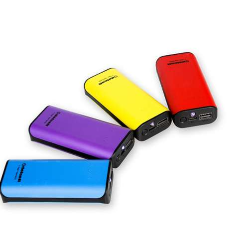 Delcell 4000mAh Powerbank TWEE Real Capacity Fast Charging Small Power Bank Garansi Resmi 1 Tahun Power Bank Murah Berkualitas - Ungu