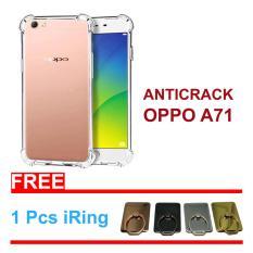 Dinamika Anti Crack  OPPO A71 Case Shockproff  Silikon Transparan