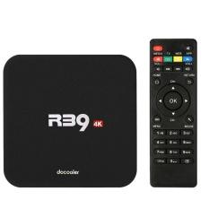 Docooler R39 Smart Android 6.0 TV Box RK3229 Quad Core UHD 4 K 1g/8g Mini PC Wifi H.265 HD Media Player UNI EROPA Plug-Intl