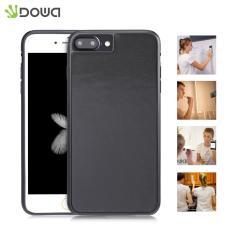 Dowa Magical Nano Hands-free Sticky Case Anti-Gravity Selfie Cover untuk IPhone 7 Plus (hitam) -Intl