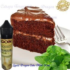 Dragon Liquid Vape& Rokok Elektrik 60ml-Cake Mint