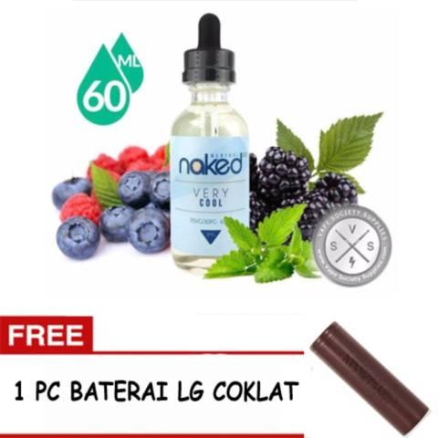 E-Liquid Naked USA Premium Rokok Elektrik Refill kemasan 1 botol x 60 ml -