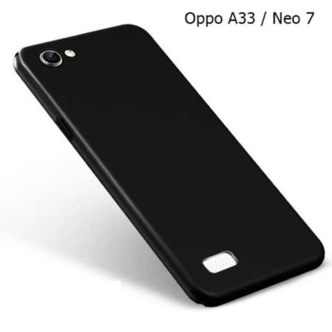 EastJava Case Slim Black doff Matte Oppo Neo 7 / A33 Softcase Anti minyak - Black