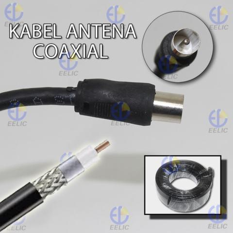 EELIC KAA-TV -A15M Kabel Signal AV Antena TV 1508 15 Meter Berkualitas Tinggi