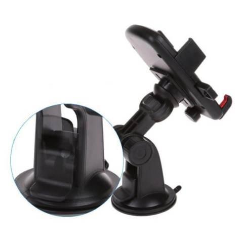 Elegant Phone Holder Universal Mobil Untuk Hp GPS - Merah Paling Murah 3