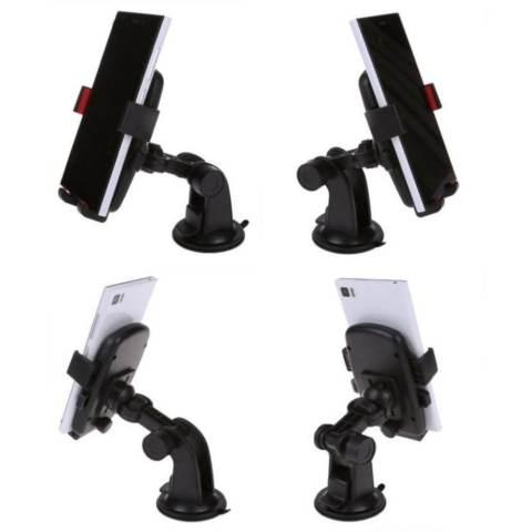 Elegant Phone Holder Universal Mobil Untuk Hp GPS - Merah Paling Murah 2