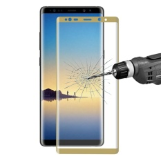 ENKAY Hat-Prince untuk Samsung Galaxy Note 8 0.26mm 9 H Permukaan Kekerasan 3D Explosion-proof Full Layar Melengkung Film Anti Gores, Kecil Kuantitas Dianjurkan Sebelum Samsung Galaxy Note 8 Launching (Emas)-Intl