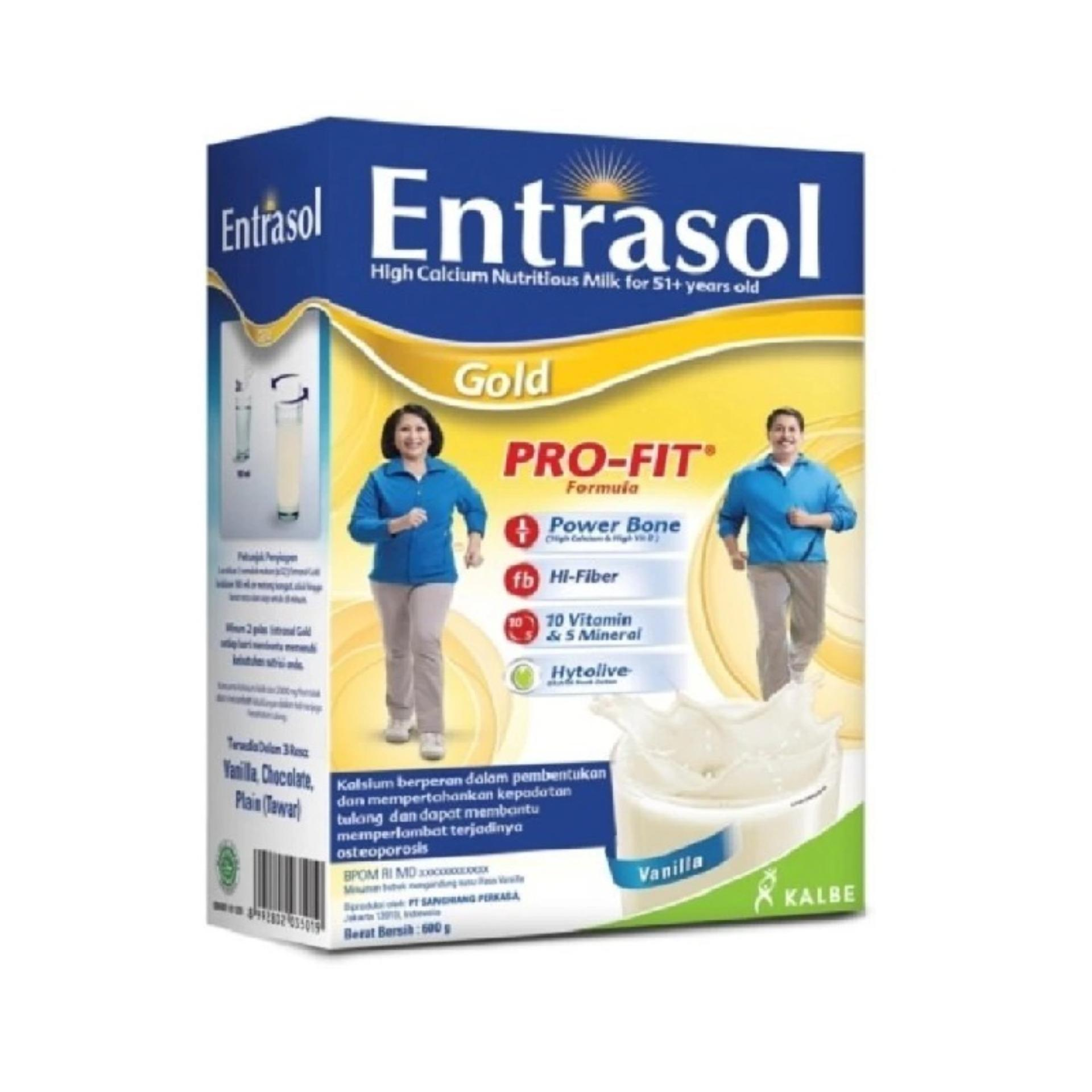 ENTRASOL Gold PRO-FIT Vanila Box 600g / 600 g