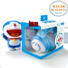 Enzu acc Headphone & Headset Karakter Doraemon Mobile Stereo Big Bass Headset