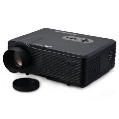 EU PLUG Excelvan CL720D LED Projector 3000 Lumens 1280 x 800 Pixels with Digital TV Interface for Home Entertainment - intl
