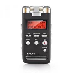 Evistr Digitales Diktiergerät, 1536 K Hochwertiges PCM-Aufnahmegerät Kristallklarem Klang Perekam Suara Audio dengan Sprachaktivierung dan Rauschreduktionsfunktion-Internasional