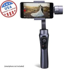 EVO SHIFT 3 Axis Handheld Gimbal for iPhone & Android Smartphones - Intelligent APP Controls for Auto Panoramas, Time-Lapse & Tracking + Built in Phone Charging - Includes 1 Year US Warranty - intl